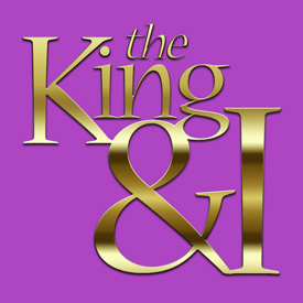 King & I button